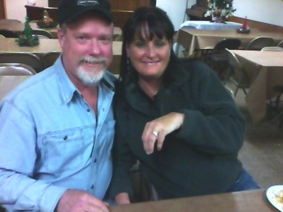 Russell Hunter and Donna Phillips celebrate their recent engagement