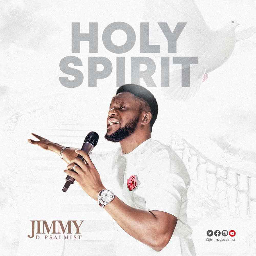 "(Audio + Lyrics): Jimmy D Psalmist - ""Holy Spirit"""