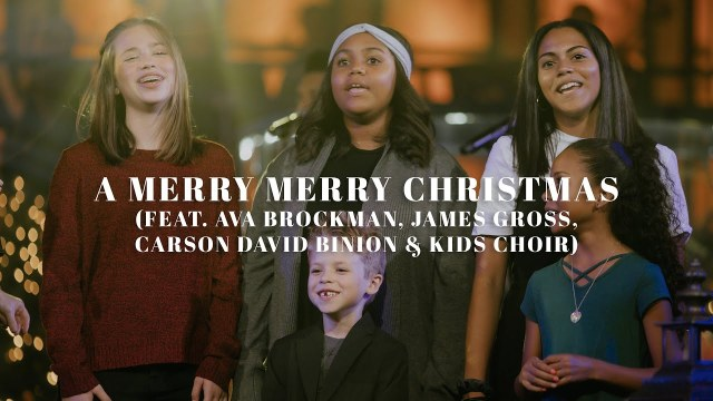 David & Nicole Binion - A Merry Merry Christmas Lyrics