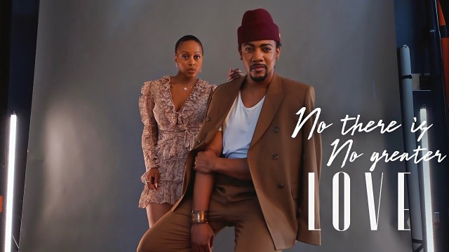 Rudy Currence & Chrisette Michele - No Greater Love