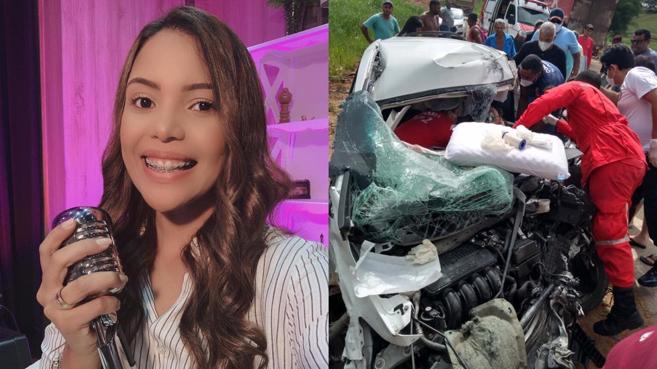 Cantora Amanda Wanessa é internada na UTI, após sofrer grave acidente em PE  - Gospel Minas