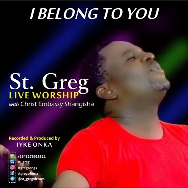 "St. Greg – ""I Belong To You"" 