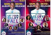 Let Your Glory Fall -Dare David May 20th-28th May
