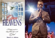 Pastor E.A. Adeboye - Open Heavens Devotional