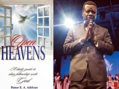 Pastor E.A. Adeboye - Open Heavens Devotional