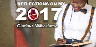 Reflections On My 2017 by Glorious Wilberforce