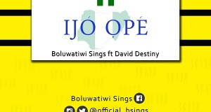 Boluwatiwi Sings - Ijo Ope