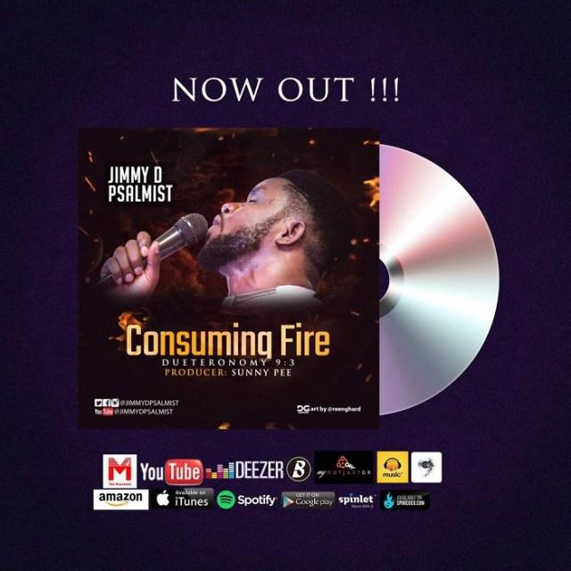 Jimmy D Psalmist - Consuming Fire