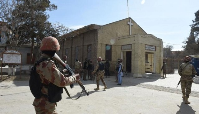 Two Christians were killed in Pakistan Church Shooting
