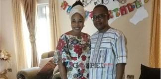 Tope Alabi Celebrate's Husband Birthday