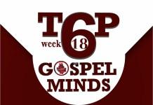 2018Week18 TOP6 Songs On Gospelminds