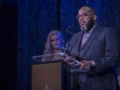 Bishop Marvin Sapp of Fame Ceremony