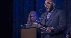 Bishop Marvin Sapp of Fame Ceremony
