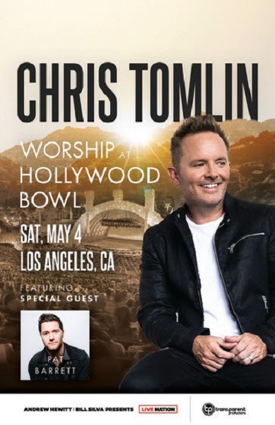 Chris Tomlin to Headline Hollywood Bowl