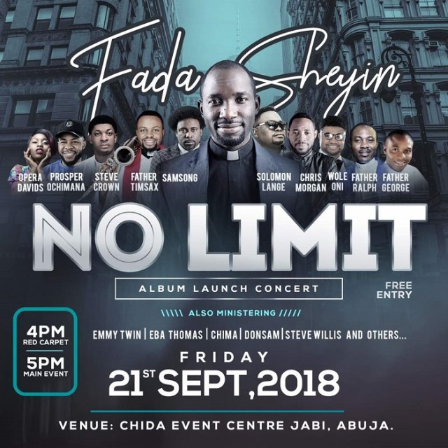 Fada Sheyin New Album No Limit Live Concert