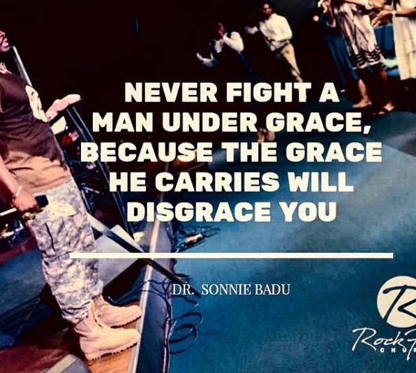 Never Fight A Man Under Grace 2