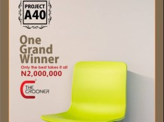 The Crooner, Is Giving N2,000,000 To The Best Singer