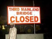 Third Mainland Bridge temporary Closed