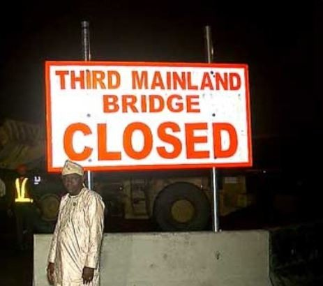Third Mainland Bridge temporary Closed