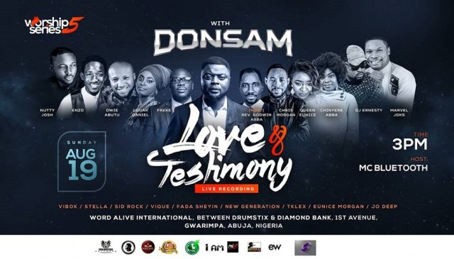 Worship Series 5 with Donsam Love and Testimony