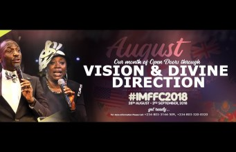 DIGC: 12th August 2018 Sunday Anointing Service