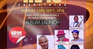 He Is Everything Concert with Segun Kusoro 23rd September 2018