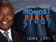 Pastor W.F Kumuyi Monday Bible Studies