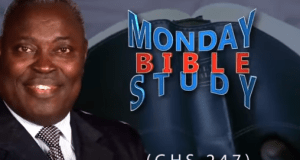 Pastor W.F Kumuyi Monday Bible Studies