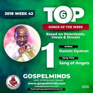 """Dunsin Oyekan – Song Of Angels """"Keiyadosh"""" No. 1"""