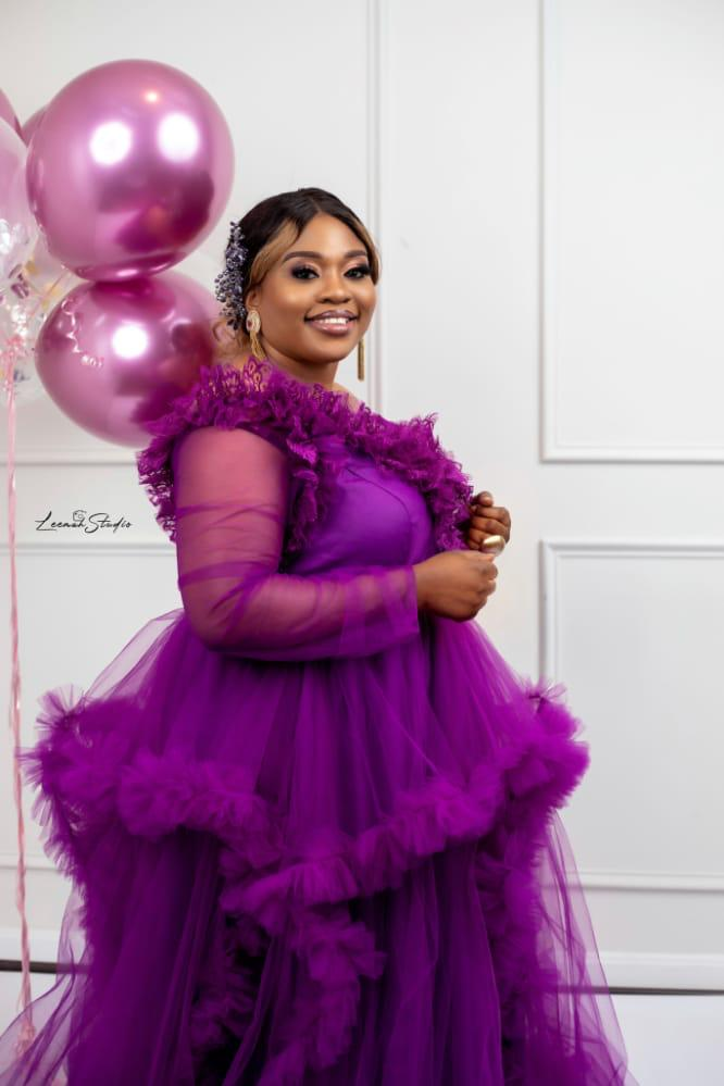 El' Grace stunning birthday pictures