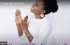 Victoria-Orenze-O Holy Night-mp3-video- download