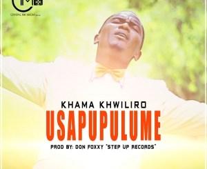 Khama Khwiliro - USAPUPULUME