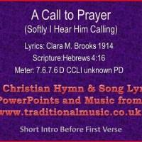A Call to Prayer lyrics