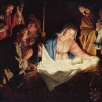 Christ was born on Christmas Day