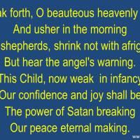 Break Forth, O Beauteous, Heavenly Light