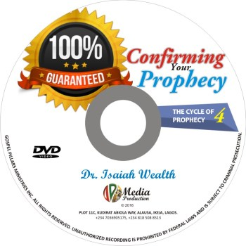 Confirming Your Prophecy ( The Cycle of Prophecy 4)