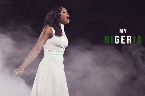 Victoria Orenze. My Nigeria