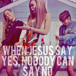 Beyonce. Michelle Williams. Say Yes