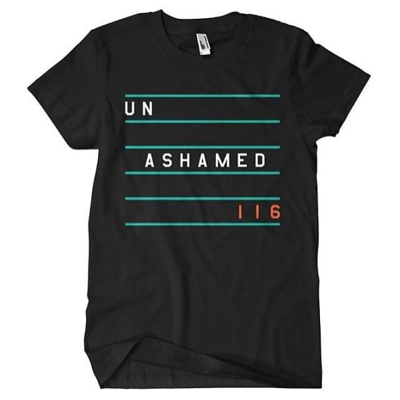 Enter now to win a FREE Unashamed T-Shirt. Winners will be announced on my Facebook Page on Tuesday, January 26th.