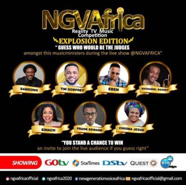 Win free tickets for the live audience in NGVAFRICA