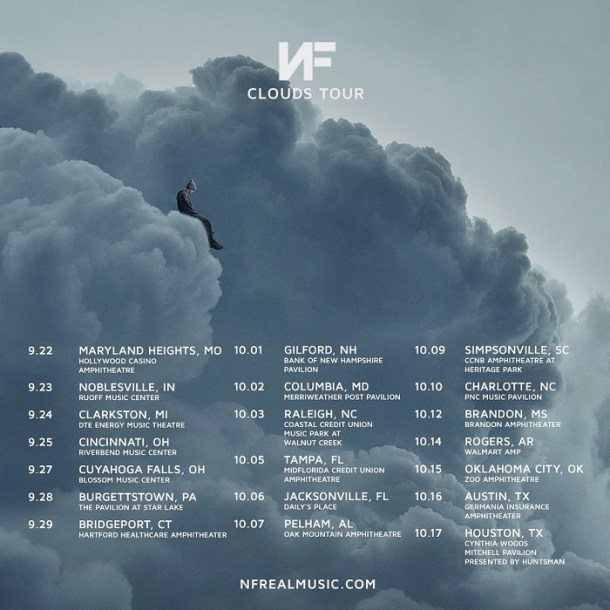 NF Set New Date For Clouds Tour 2021