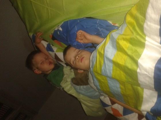 16-sleeping boys
