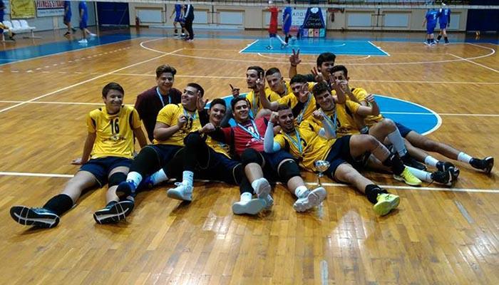 Για 5η συνεχόμενη χρονιά το εφηβικό του Α.Ο Πρέβεζας στους ημιτελικούς του Πανελλήνιου Πρωταθλήματος