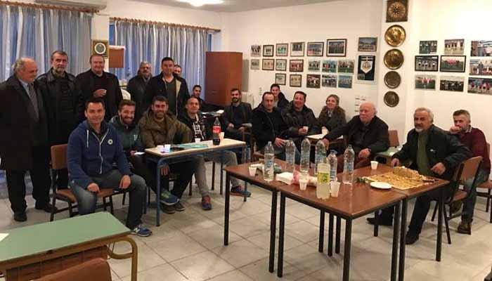 Έκοψε την πρωτοχρονιάτικη πίτα ο Σύνδεσμος Διαιτητών Ποδοσφαίρου Πρέβεζας Λευκάδας (φώτο)