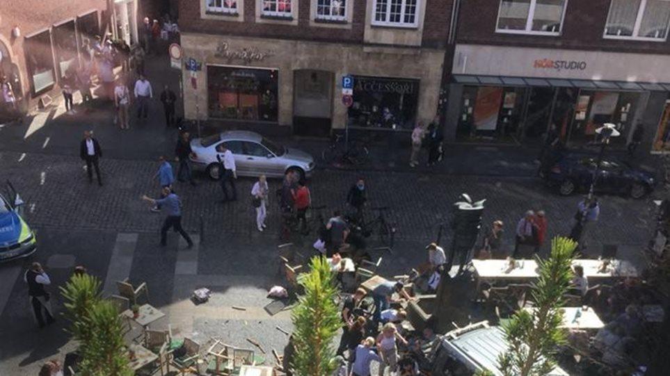 Τρόμος στη Γερμανία: Ημιφορτηγό έπεσε πάνω σε πλήθος