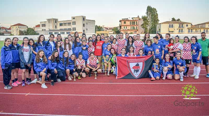 Με μεγάλη επιτυχία το 1ο Τουρνουά Γυναικείου Ποδόσφαιρου στη Λευκάδα