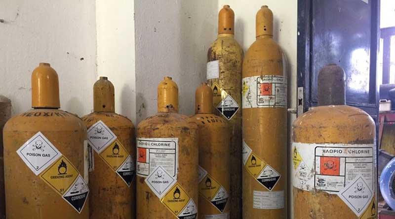 Ιωάννινα: Παρελθόν οι φιάλες με αέριο χλώριο από το αντλιοστάσιο