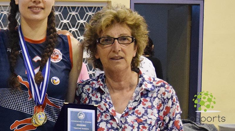 Η Πρόεδρος του Φ.Γ.Σ Πρέβεζας κα Ιφιγένεια Τέφα στο Gosports.gr