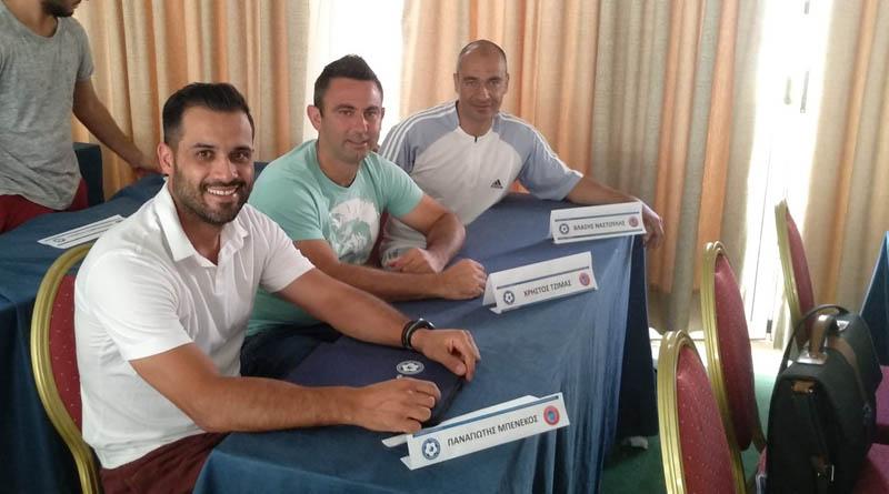 Στη Ρόδο για την σχολή UEFA B Τζίμας και Ναστούλης