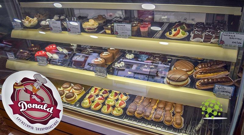 Νέες θεϊκές γεύσεις γλυκών στο Ζαχαροπλαστείο Donald Pastry & Coffee shop